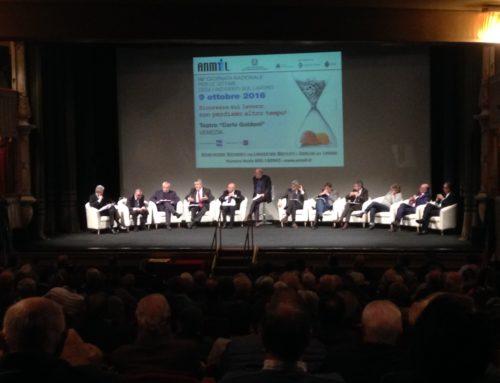 Conferenza nazionale ANMIL Onlus – Teatro Goldoni, Venezia