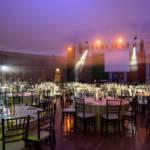 illuminazione matrimonio serata di gala festa