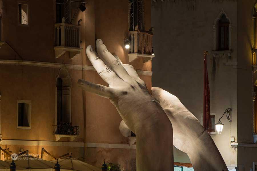 Mostre ed esposizioni u afs service audio e luci venezia